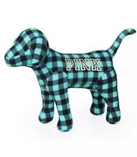 "NWT Victoria's Secret Pink GIANT 10"" x 13"" Mini Dog Limited Ed Plaid RARE VS PUP"