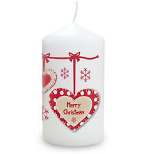PERSONALISED CHRISTMAS CANDLE, UNIQUE FRIENDS FAMILY PRESENT unusual gift idea