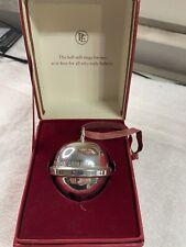 Hallmark First Gift of Christmas Polar Express Bell Ornament 2004 Keepsake Box
