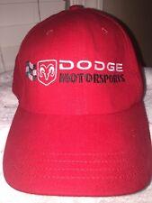 DODGE MOTORSPORTS Nascar Pit Crew Hat Grab Life By The Horns Sponsor Hat