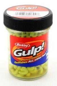 Berkley Gulp Chartreuse Maggots Asticots