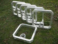 """Cavaletti """"Viereck""""  Paar  ca. 50 cm x 50 cm aus Aluminium Alu"""