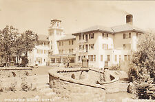 Postcard Rppc Columbia Gorge Hotel Hood River Or exterior 1931 real photo