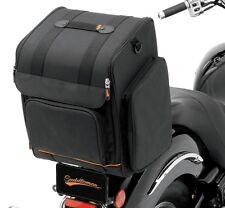 Saddlemen SSR1900 Universal Sissy Bar Luggage Rack Bag - Harley Metric