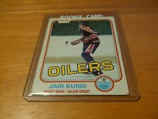 Jari Kurri O-Pee-Chee Rookie Card Hockey Hall of Fame 81-82 Edmonton Oilers