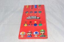 New Super Mario Bros Wii 4-Color Original Wii Remote Strap Set Club Nintendo