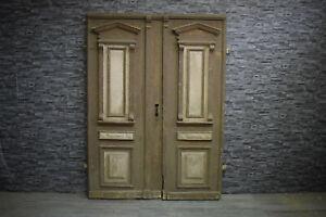 Antike Gründerzeit Tür Haustür Eingangstür Doppeltür 202 x 113
