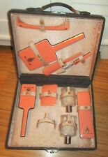 Vintage 8 Piece DuPont Woman's Art Deco Vanity Set with Case By White Company