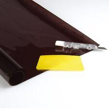 Tönungsfolie tiefschwarz Folie schwarz Heckscheibe 75 x 152 cm Scheibenfolie