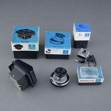 Praktica VLC KIT, loupe magnifier finder waist divisions sreen Exakta RTL #4☆☆☆☆