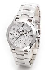 Dolce&Gabbana DW0538 Silver Texas Men's Watch Chronograph