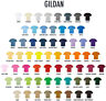 Gildan Mens Plain T Shirt Solid Cotton Short Sleeve G500 5.3 Blank Tee Top S-3XL