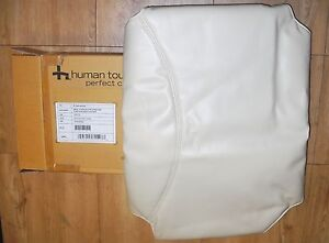 New IVORY HUMAN TOUCH Perfect Chair PC-6 PC-95 PC-75 Back Cover - NO CHAIR