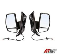 Ford Transit Custom Van 2012-2019 Manual Door Wing Mirror Driver Lh Rh Side Pair