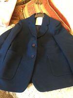 """Ex John Lewis stunning Women's/girls Royal 100% wool Blazer size 10  81cm/32"""""""