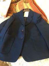 """Ex John Lewis stunning Women's/girls Royal 100% wool Blazer size UK 10  81cm/32"""""""