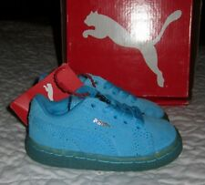 NIB Infant Toddler Girls or Boys PUMA Classic Iced Kids Suede Sneakers - size 5