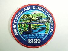 """1999 Pennsylvania Fish & Boat Commission """"Susquehanna"""" on Penns Creek Patch"""