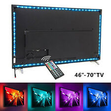 2M 5W USB Powered LED Strings Light Home TV Wrap Backgound Lamp Remote Control
