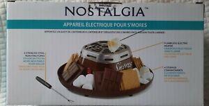 Nostalgia SMM200 Indoor Electric S'mores Maker - Java Brown