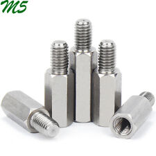 M5 Male-Female 304 Stainless Steel Hex Column Standoff Support Spacer PCB Board