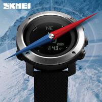 SKMEI Altimeter Barometer Men Sports Digital Wrist Watch Climbing Hiking 1418 2