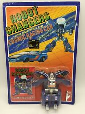 Vintage Robot Changers Cosmic Racing Lamborghini Car Transformer Toy 80's Japan