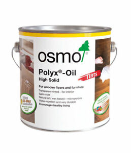 Osmo Polyx Wax Oil Tints 8 Different Colours 750ml & 2.5L