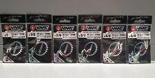 VMC assist Hook 7117 talla 1 1/0 2/0 3/0 4/0 5/0 UV Kristal Flash speedpilker Jigs
