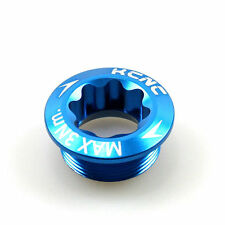 gobike88 KCNC Crank Arm Bolt, M20xP1.0, Blue, 621