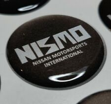 NISMO 3D domed sticker badge 30mm round New