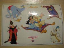 """wie neu Disney Stickerbogen aus """"Aladdin"""" von C&A Aufkleber Sticker"""