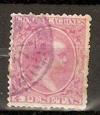 1889 EDIFIL 227º USADO PELON 4 PESETAS