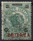 Eritrea 1924 SG#84, 5c On 5b Green Used #A92396