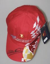 MARK WEBBER  Hand Signed Hat Cap  * BUY GENUINE  *