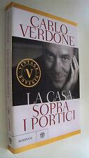 LA CASA SOPRA I PORTICI Carlo Verdone Bompiani Vintage 2012
