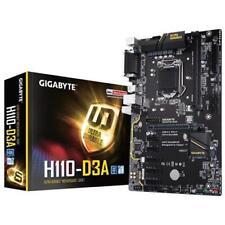 GIGABYTE Scheda Madre H110-D3A Bitcoin Edition Socket LGA 1151 Chipset H110 ATX