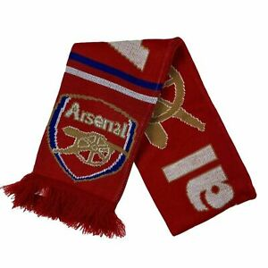 Arsenal Scarf Team Supporter Red Banner NWOT
