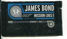 James Bond Mission Logs Factory Sealed Hobby Packet / Pack