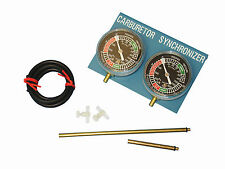 Motorcycle Carburettor Vacuum balancer gauge kit for 2 cylinders - Carb Balancer