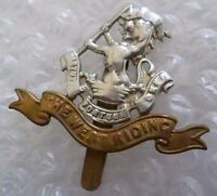 Badge- Duke Of Wellington's Regiment (West Riding) Officer's Cap Badge