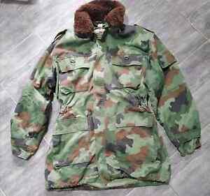 SERBIAN ARMY YUGOSLAVIA Winter Jacket M-93 With winter lining