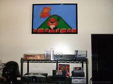 Retro Super Mario & Goomba Oil Painting Style L.E. Poster #15 of 50 30x20 Bros