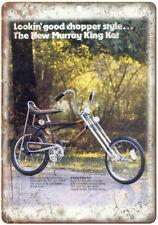 "Murray King Kat Chopper Style Vintge Ad 10"" x 7"" Reproduction Metal Sign B08"