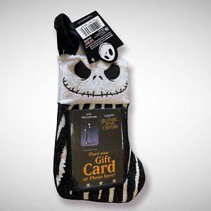 Nightmare Before Christmas NBC Jack Skellington Gift Card Holder Stocking 2006