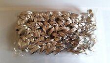 Lot de 100 Bagues multi-taille couleur argenté en Aluminium