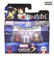 Marvel vs Capcom 3 Minimates Wave 1 Deadpool vs Dante
