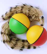Wieselball Ball mit Bewegung Hundespielzeug Katzenspielzeug Weasel Weazel Wiesel