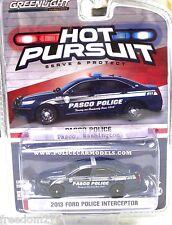 GREENLIGHT FORD POLICE INTERCEPTOR PASCO,WASHINGTON POLICE 1/64 DIECAST 50848