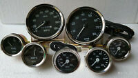 Smiths Gauge Kit Temp+ Oil+ Fuel+ Amp Gauge+Oil Temp+Speedometer +Tacho Replica